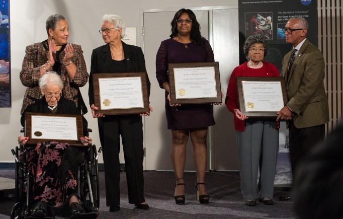 NASA honoring human computers