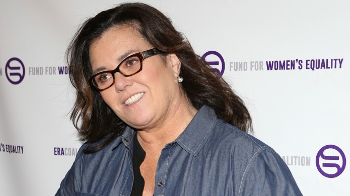 Don't expect Rosie O'Donnell to get