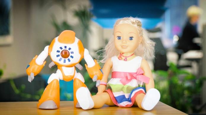 These talking dolls may be spying