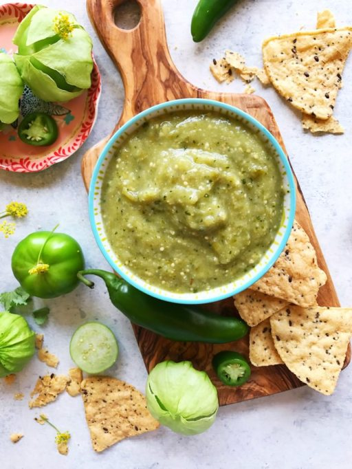 Homemade Condiments: Tomatillo salsa goes with everything