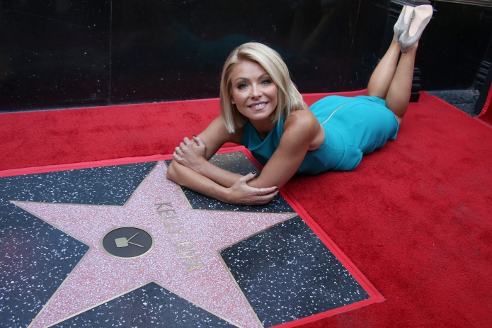 Kelly Ripa honored with star on
