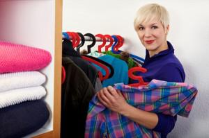 Organize your closet for the new
