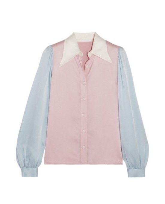 Ways To Wear Pastels This Fall | Color Blocked