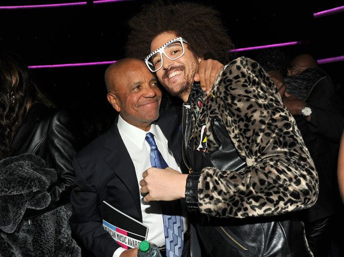 Celebrities with famous fathers: Redfoo & Berry Gordy