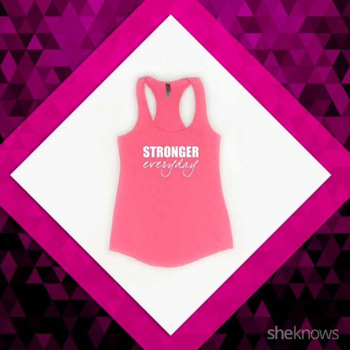 Stronger Every Day, breast cancer shirt