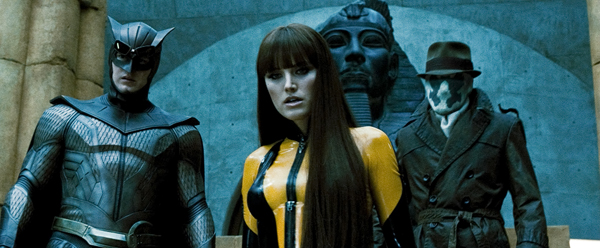 Malin Akerman leads The Watchmen into action