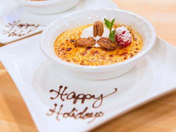 Holiday Baking Championship Recipes: Triple Spice Creme Brulee