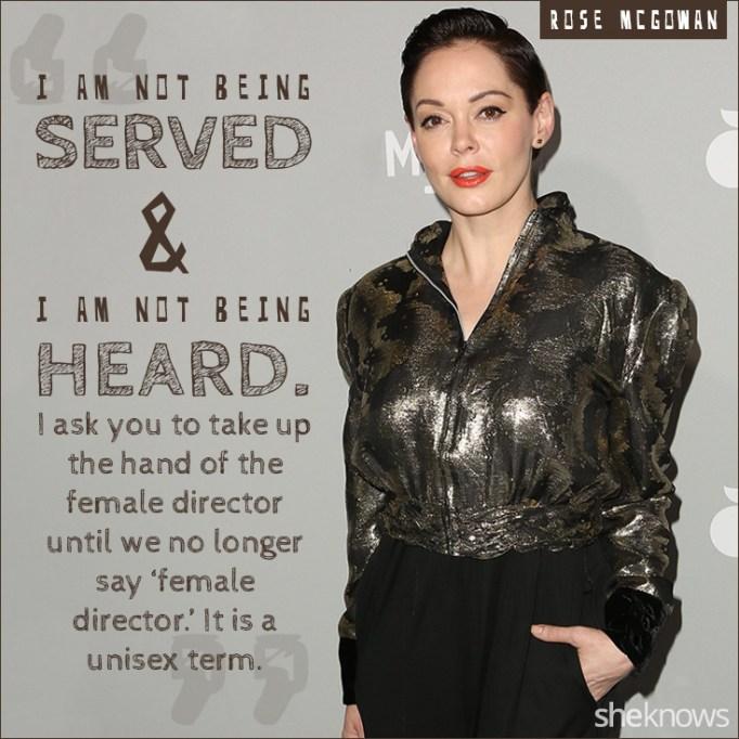 Rose McGowan quote