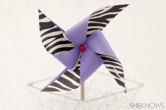 DIY summer pinwheel craft