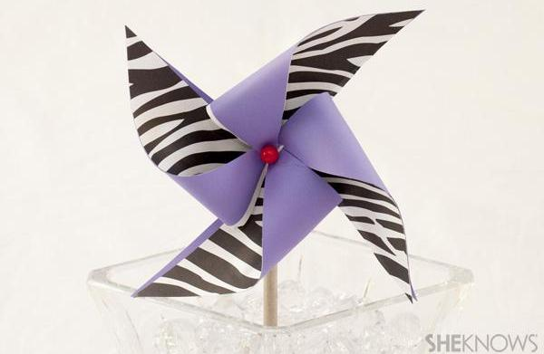 DIY summer pinwheel craft