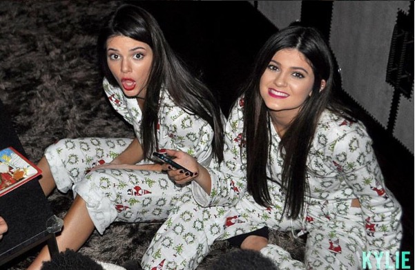 Kendall and Kylie Jenner throwback picture