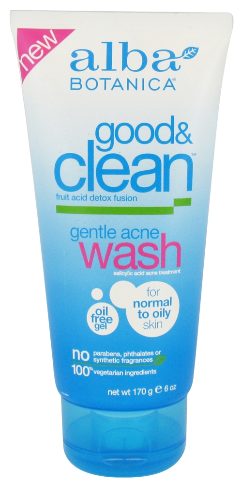 Product review: Alba Botanica Good & Clean Gentle Acne Wash