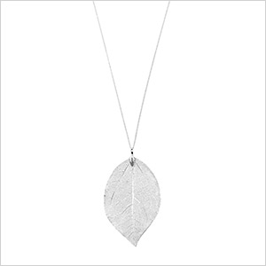 aldo leaf necklace