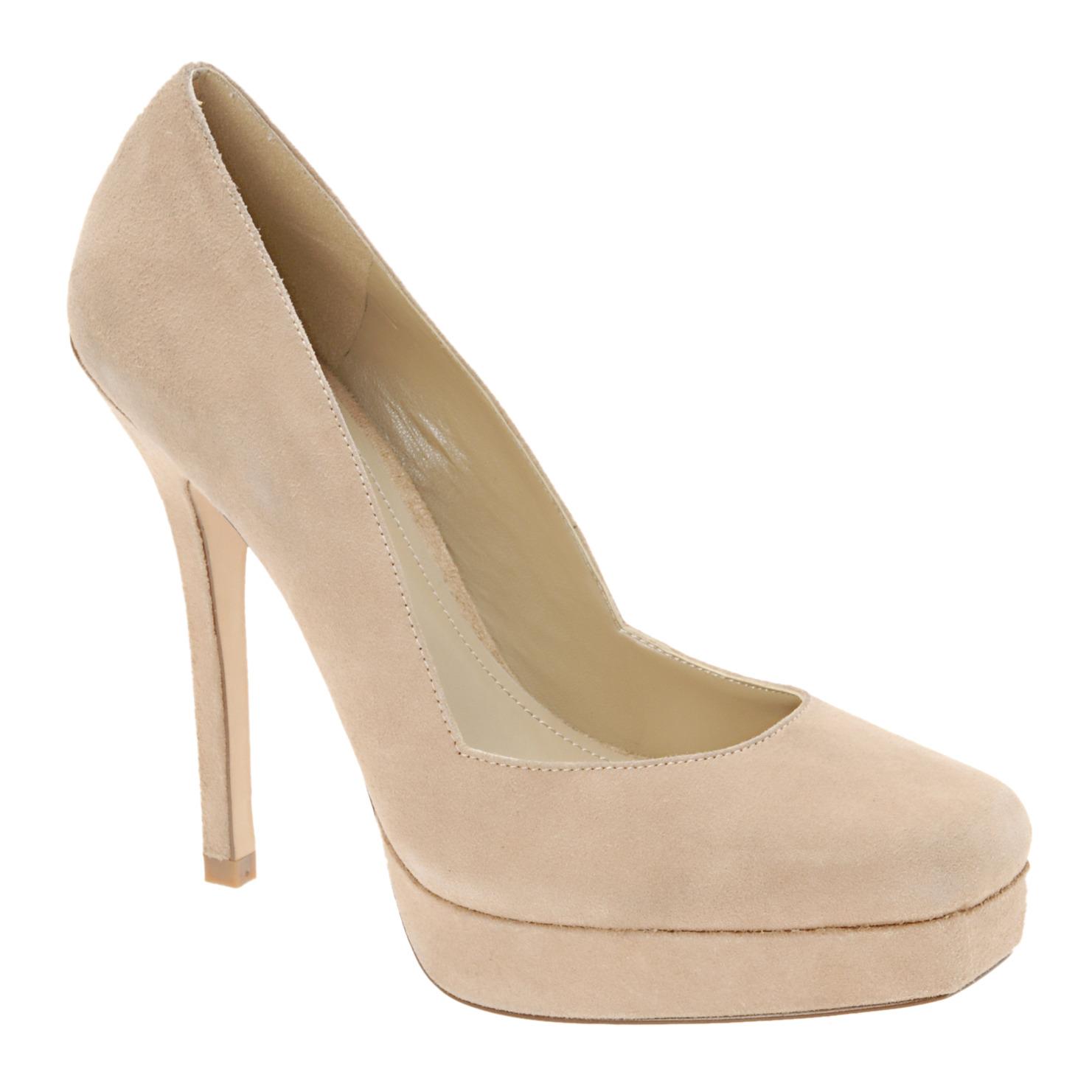 aldo-nude-suede-shoes
