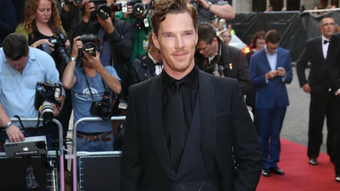 Watch Benedict Cumberbatch get upstaged by