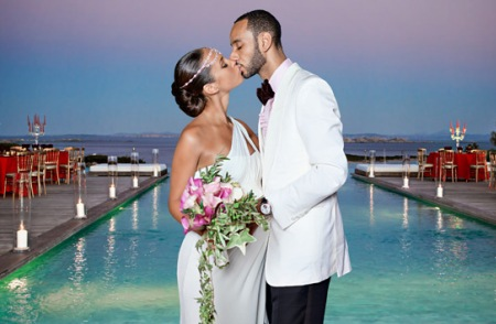 Alicia Keys and Swizz Beatz get married