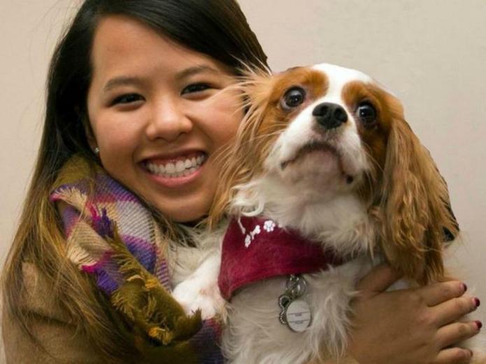 Dallas nurse reunites with dog after