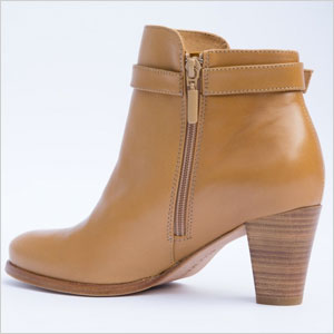 Allie Marie caramel leather boots