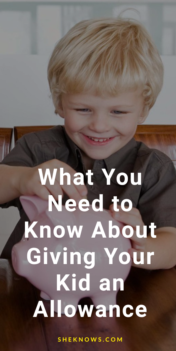 What You Need to Know About Giving Your Kid an Allowance