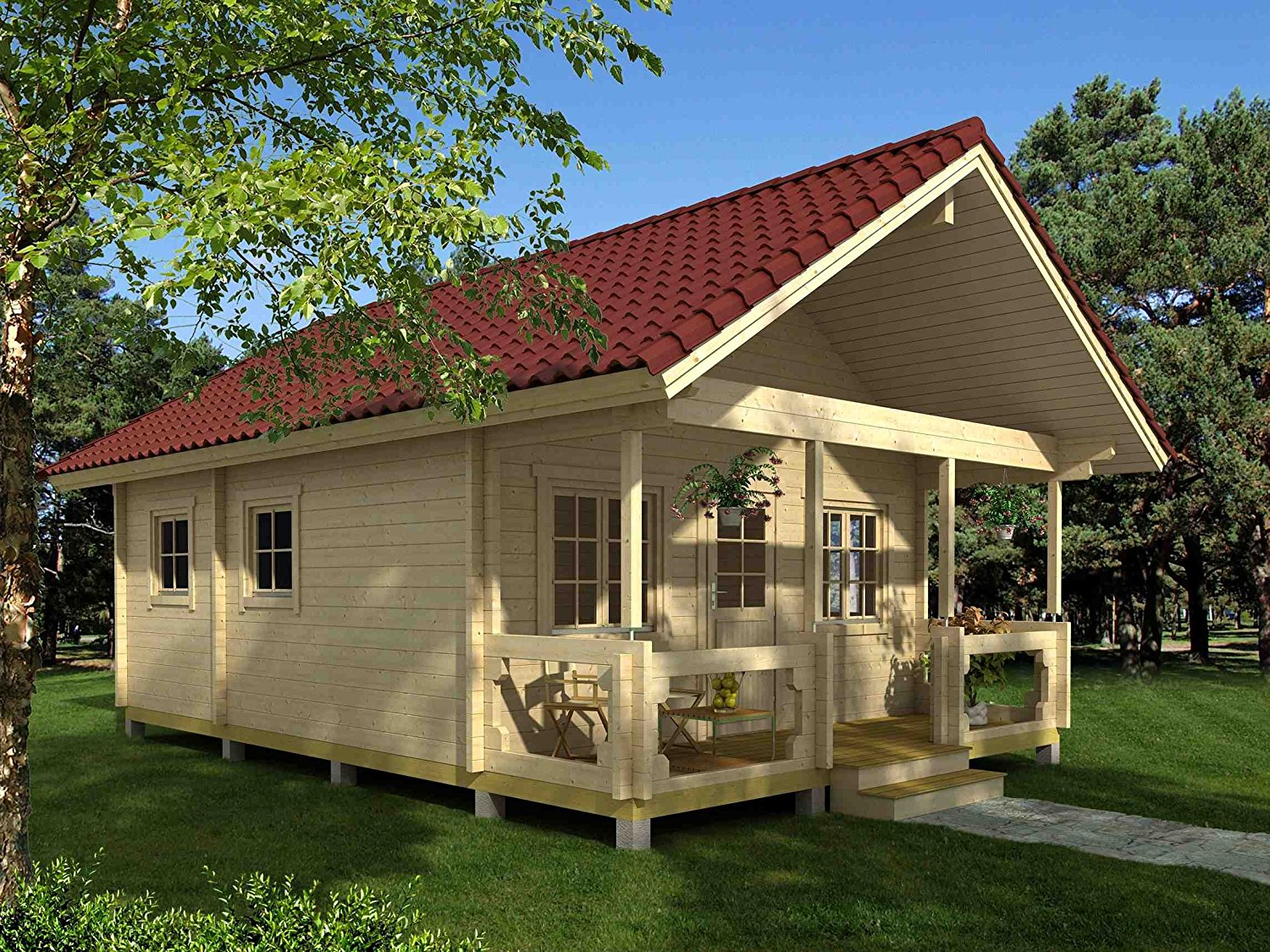 The Best Tiny Houses Available on Amazon: Three-room cabin