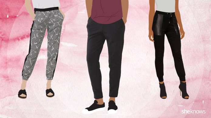 10 pairs of sweatpants that can