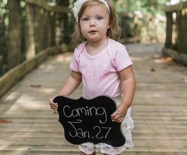 Alyssa Bates Webster and John pregnancy announcement