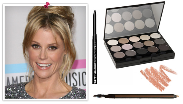 Get Julie Bowen's 2011 AMA makeup look