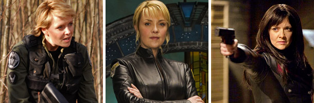 Amanda Tapping - Sanctuary, Stargate, Atlantis