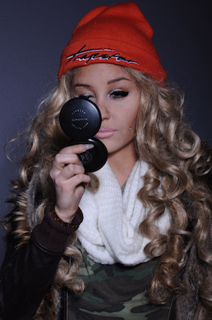 Amanda Bynes twitter picture of herself.