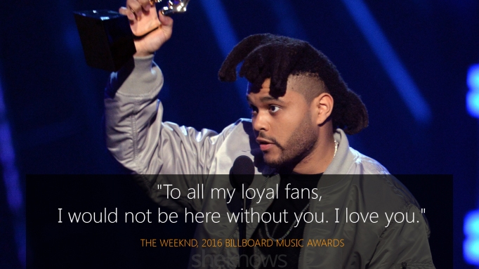 The Weeknd 2016 BBMAs