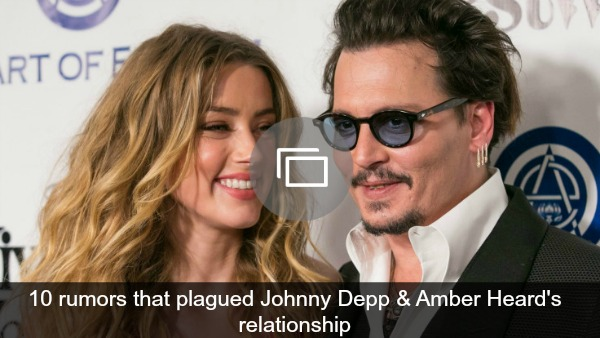 Johnny Depp & Amber Heard rumors