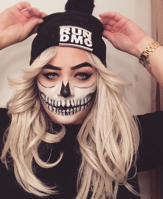 20 Seriously Cool (and Easy) Halloween Makeup Ideas