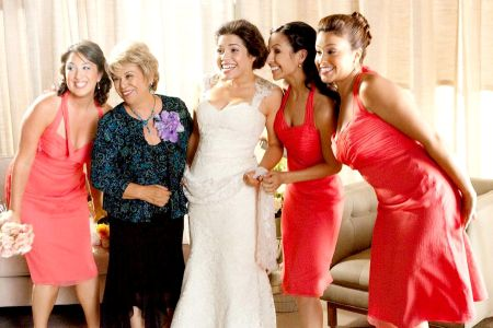 America Ferrera in Our Family Wedding, out March 12