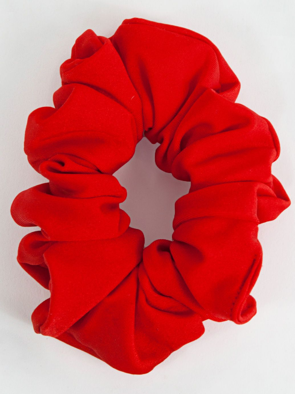 Cotton Scrunchie in Poppy (American Apparel, $6)