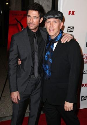 Dylan McDermott and Ryan Murphy