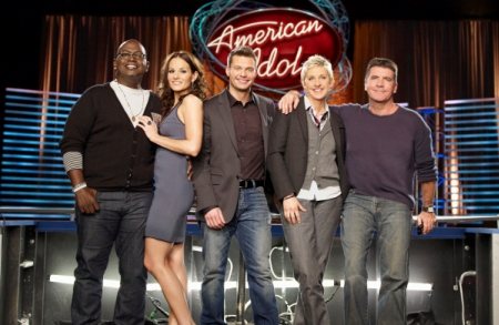 American Idol judges and Ryan Seacrest, now, it's just Ryan and Randy