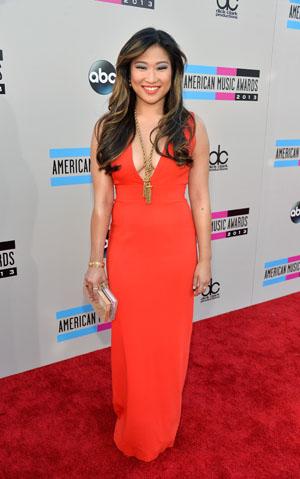 Jenna Ushkowitz at the 2013 American Music Awards