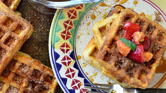 11 Creative Sweet & Savory Waffle