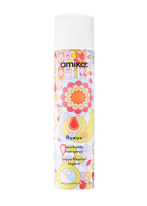 Product Pairs for Every Hair Texture: Amika Fluxus Touchable Hairspray