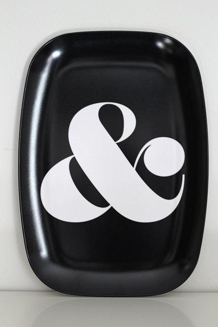 Ampersand platter