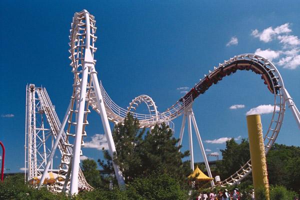 Roller coaster - theme park rides