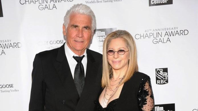 James Brolin and Barbra Streisand attend