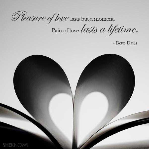 Betty Davis love quote