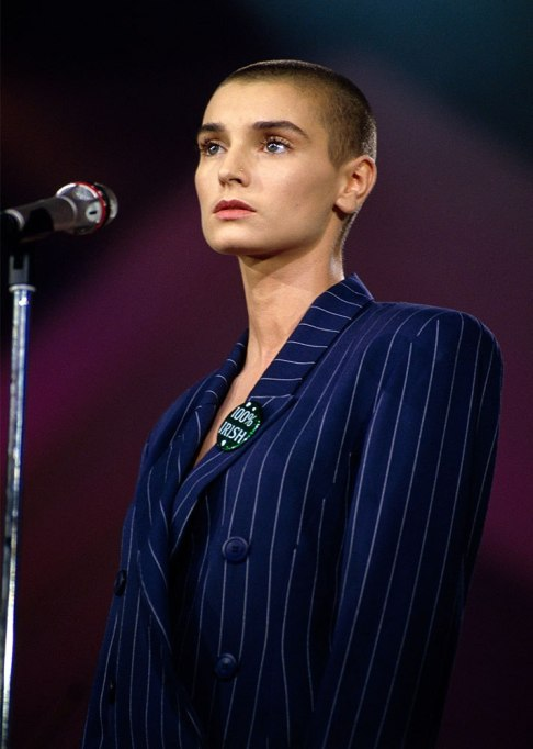 Sinead O'Connor Buzz Cut