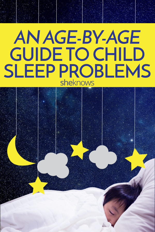 How to solve child sleep problems at any age