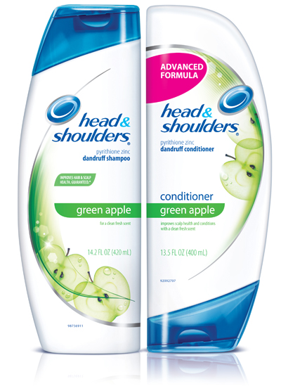 An apple a day: Head & Shoulders Green Apple shampoo and conditioner reviewt