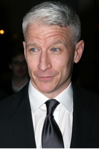 Anderson Cooper Giggles