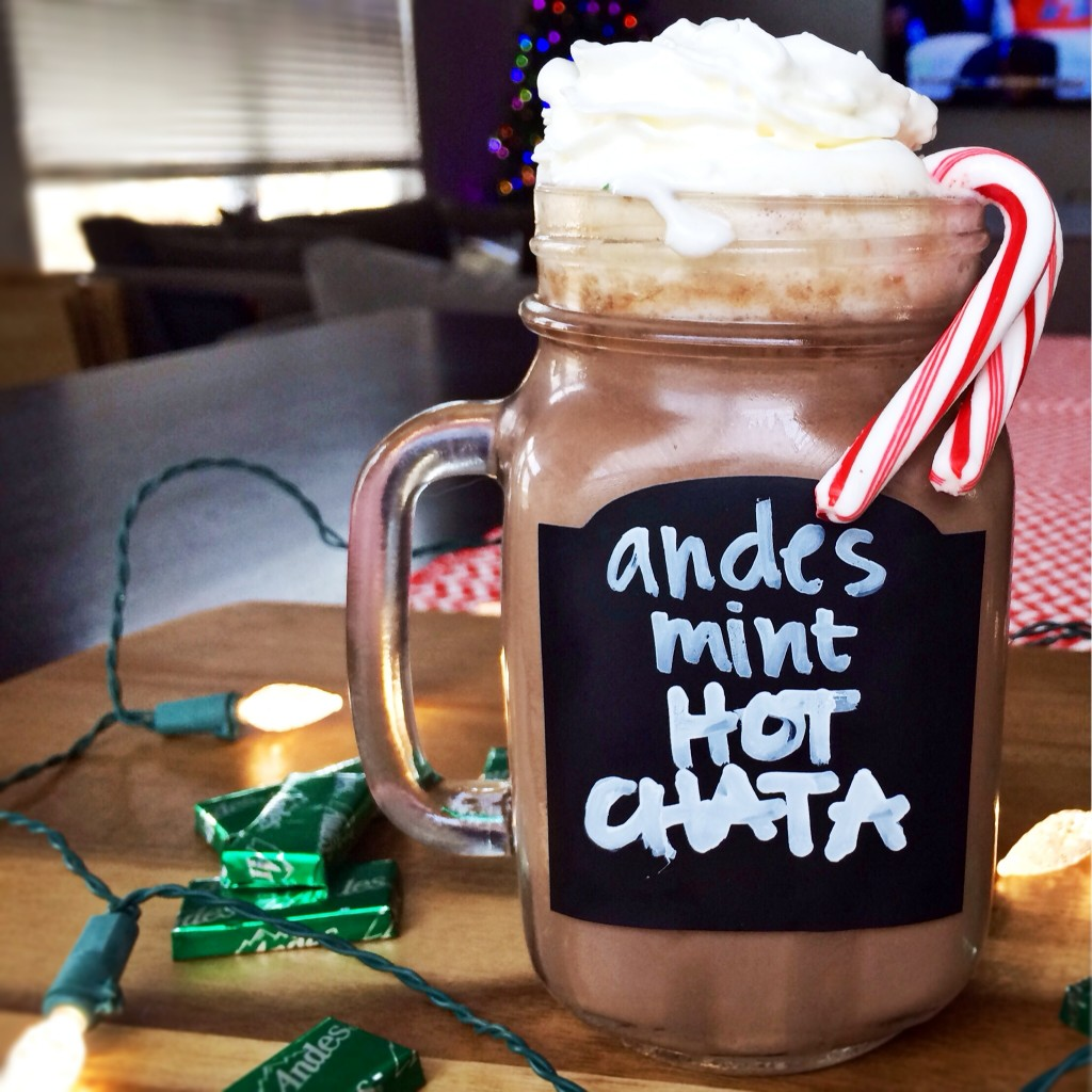 slow cooker andes mint hotchata
