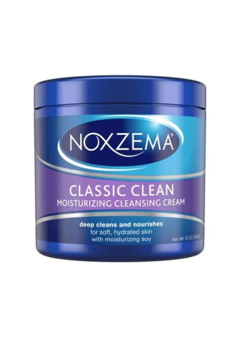 Cream Cleansers for Summer Skin: Noxzema Classic Clean Moisturizing Cleansing Cream