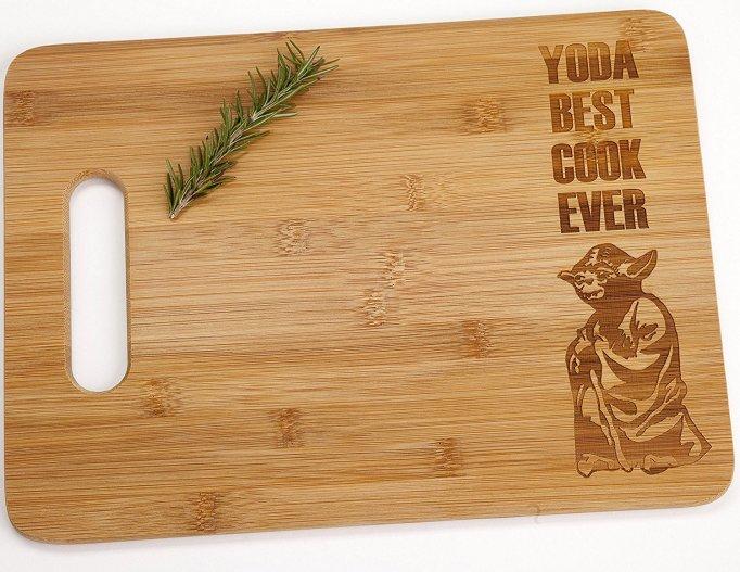 Yoda 'Star Wars' cutting board